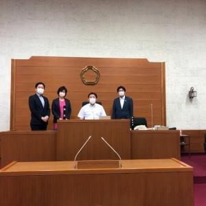 9月16日 本日は令和3年9月議会最終本会議を迎えました