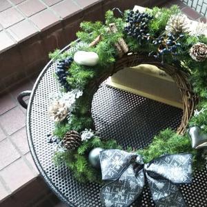 クリスマスリースレッスン二日目~☺️
