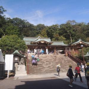 今日の諏訪神社