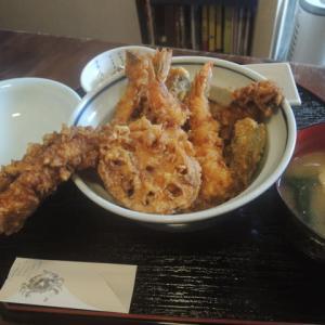 関東風の天丼
