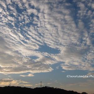 夕方の高積雲