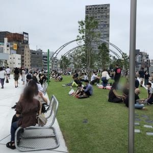 渋谷のニュースポット!MIYASHITA PARKへ