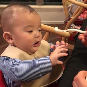 息子6ヶ月 離乳食スタート!