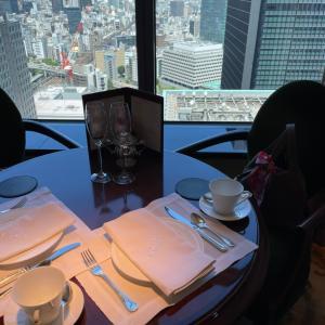 シャングリラホテル東京のアフタヌーンティーで娘とデート