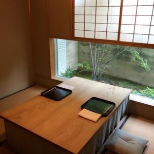 予約が取れない日本料理『松川』へ