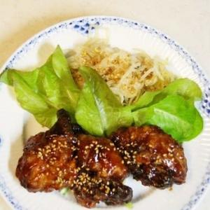 時短☆急にヤンニョムチキンが食べたくなって♪★自宅厨房★