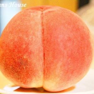 甘くて果汁たっぷりの桃♪★ぴ〜一番★