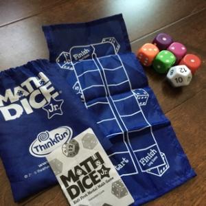 サイコロで足し算・引き算 〜Math Dice