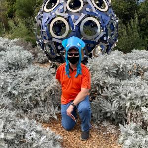 コロナ下ハロウィンは花園にて仮装フォトコン