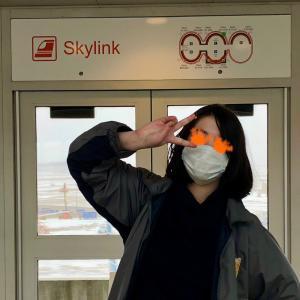 氷雪のダラス空港で思わず鉄子といきなり空美
