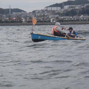 11月9日大津ボート釣りケータ君と一緒