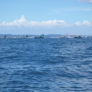 8月30日観音崎ボート釣り