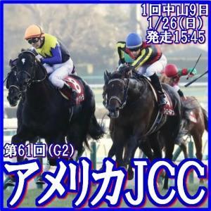 【アメリカJCC(G2)】(2020データ分析篇)