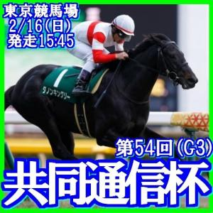 【共同通信杯(G3)】(2020総合分析予想篇)