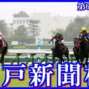 【神戸新聞杯(G2)】(2020血統データ分析篇)