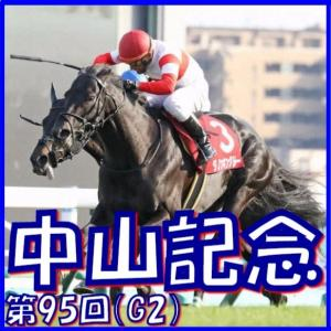 【中山記念(G2)】(2021日刊馬番コンピ指数分析篇)