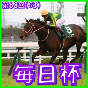 【毎日杯(G3)】(2021日刊馬番コンピ指数分析篇)