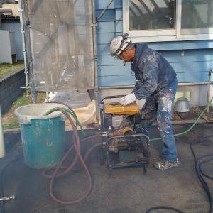 塗装工事  高圧洗浄工事完了しました 札幌南区石山1条7丁目29  M 邸