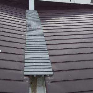 スノーダクトの樋清掃しました  札幌市南区石山1条7丁目 12  O宅