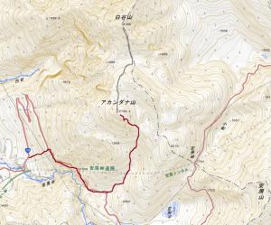 活火山 アカンダナ山(2,109m)