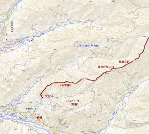 掘り出しものの山―白尾山(1,612m)