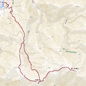 猿ケ馬場山(1,875m)再訪
