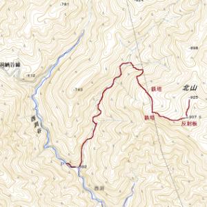 誰とも会わない岐阜県の山(1)―北山(908m)
