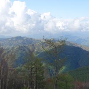 古代東山道から登る 富士見台(1,739m)