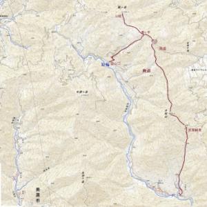 円空・播隆修行の地片知山(966m)から瓢ヶ岳(1,163m)へ