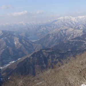 積雪期小津三山縦走記―花房山(1189m)まで