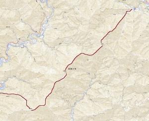 積雪期小津三山縦走記(3)―小津権現山(1158m)へ