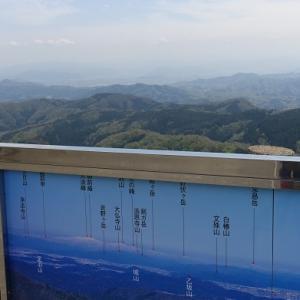 泰澄初修業伝承の山―越知山(612.8m)
