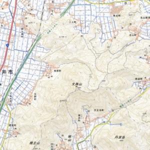 泰澄のふるさとを見下ろす―文珠山(366m)