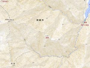 大笠山(1,821.8m)再訪