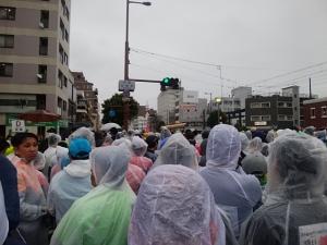 高知龍馬マラソン2020・2月16日雨の中完走しました