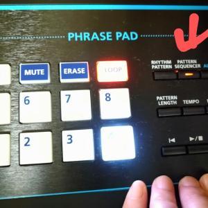 JUNO-DS,PADに音色設定する手順(パネル1から8まで)