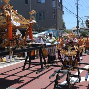 浅間神社の例大祭