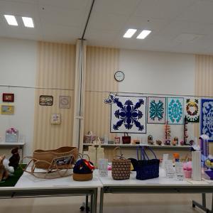イオンカルチャー新潟青山店の手芸・工芸展