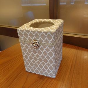【カルトナージュ】ゴミ袋が見えないゴミ箱