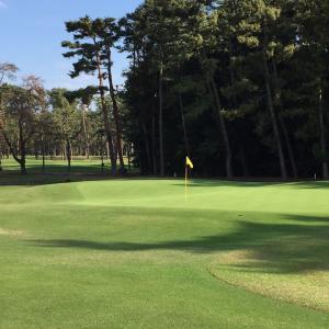 ゴルフ競技の再開