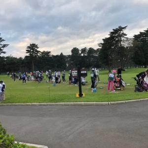 日本オープン初日