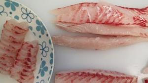 How to slice the sea-barramundi's fillets