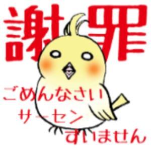 手抜き満載100%ブログで謝罪ヾ((○>□<)ノ