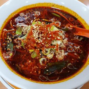 四川料理屋で激辛四川麺°˖✧◝(⁰▿⁰)◜✧˖