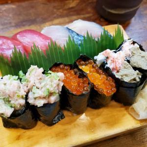 ご無沙汰!!浜寿司で10貫にぎり(⁎˃ᴗ˂⁎)