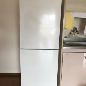 冷凍庫の大きな冷蔵庫を買いました