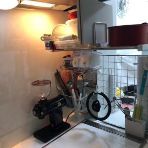 キッチン周り模様替えしました