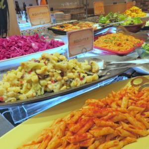 【開店】ミート柿安でサラダバー付きランチを食べました!
