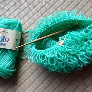 リング細編みを