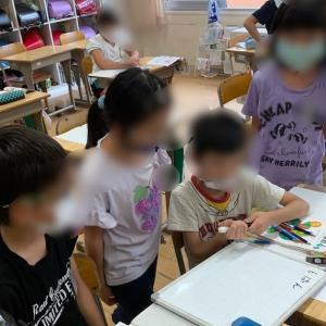 コロナ対策のグループ学習開始!
